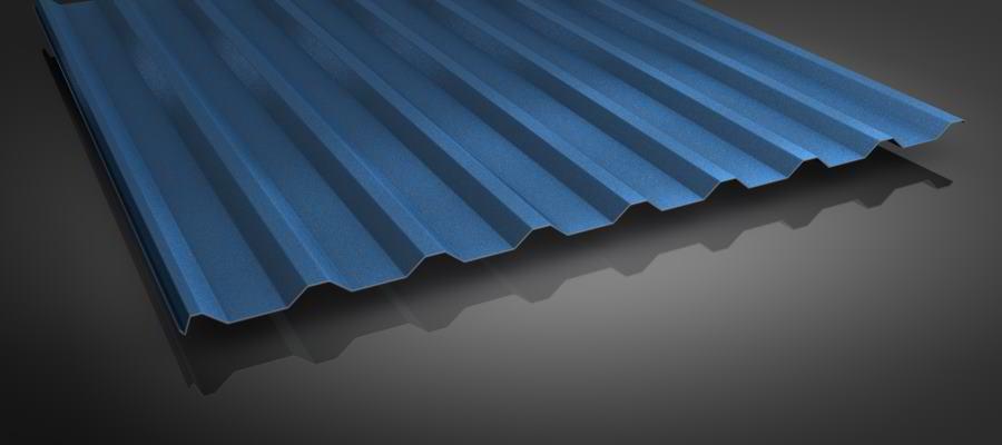 stahlblechplatten restposten trapezprofil 2 50m profil 20 1100 online kaufen dachplatten shop. Black Bedroom Furniture Sets. Home Design Ideas